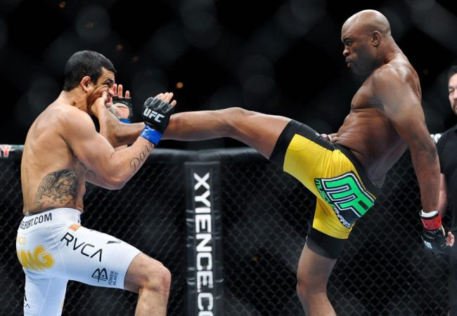 Vídeo: o nocaute de Anderson Silva sobre Vitor Belfort no UFC 126