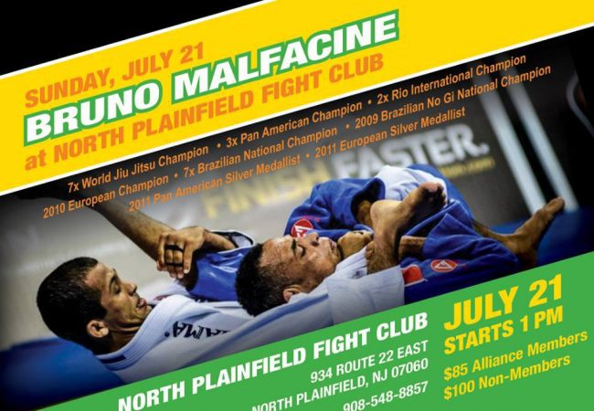 Bruno Malfacine to hold seminars for first time in NY/NJ July 20/21