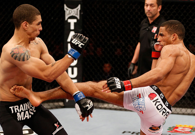 """Edson Barboza confiante para o UFC 162 após """"camp de luxo"""""""