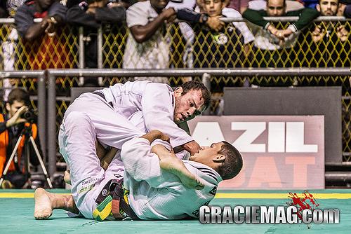 Rodrigo Fajardo está escalado no torneio da CBJJ. Foto: Gustavo Aragão/ GRACIEMAG