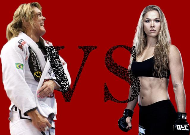 Gabi vs. Ronda Who would you bet on?
