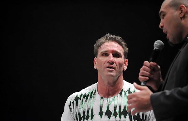 Ken Shamrock,astro do Hall da Fama do UFC. Foto: Chris Dela Cruz/ Divulgação