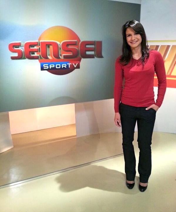 Kyra Gracie apresenta o Sensei Sportv em julho e agosto de 2013 Foto Divulgacao