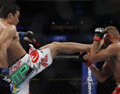 Vídeo: o nocaute de Lyoto Machida sobre o lendário Randy Couture no UFC