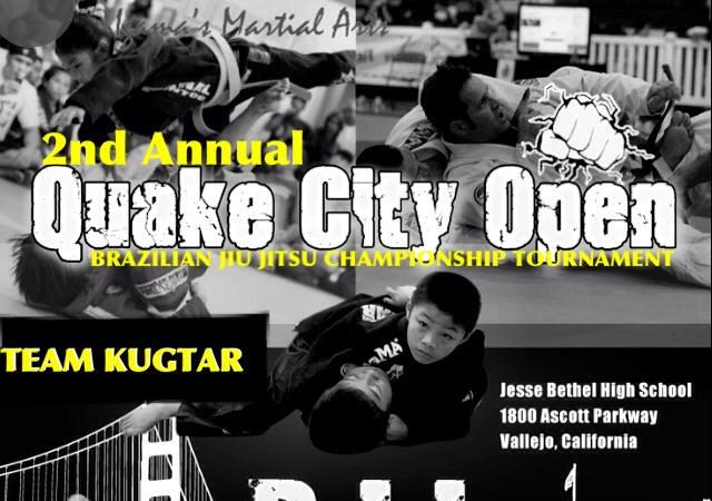 This Saturday, compete at the 2nd Quake City Open Tournament in Vallejo, CA!