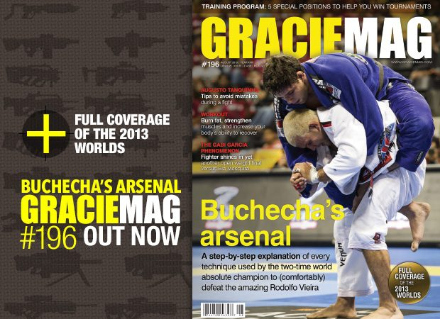 GM #196: The extraordinary arsenal of Jiu-Jitsu world champion Marcus Buchecha