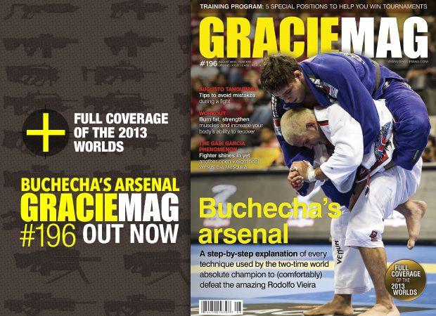 GM #196: The extraordinary arsenal of Jiu-Jitsu world champion Marcus Buchecha