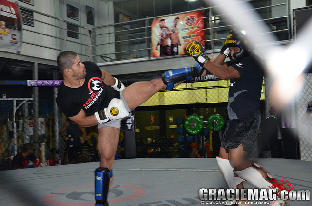 Photo gallery: Rousimar Palhares training for UFC comeback