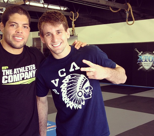 2013 ADCC: Galvão, Rafa Mendes training together again after troubled Worlds camp