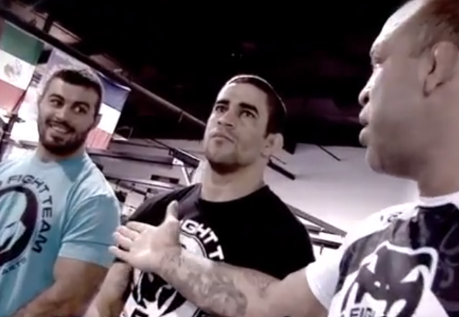Video: Wanderlei Silva adds Ricardo Demente to Wand Fight Team
