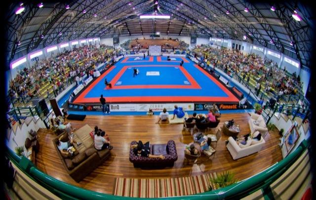 O ginásio em Gramado, sede da seletiva do WPJJC. Foto: Divulgação