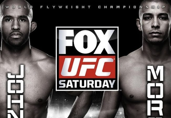 UFC on Fox 8 weigh-in results and video: Demetrious Johnson and John Moraga hit the scales