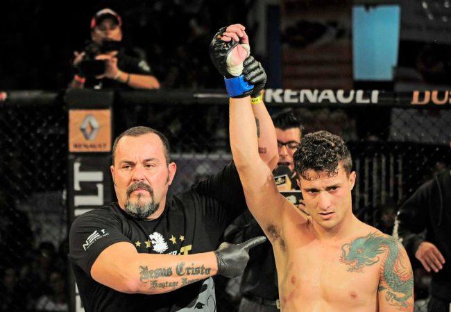 Carcaça vence a décima seguida no Circuito Talent de MMA
