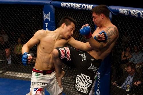 'Korean Zombie' makes final prep for fight with Jose Aldo