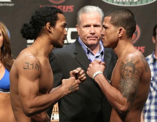 Henderson x Pettis 2 ocorre no UFC 164 e será exibido no Combate. Foto: Divulgação