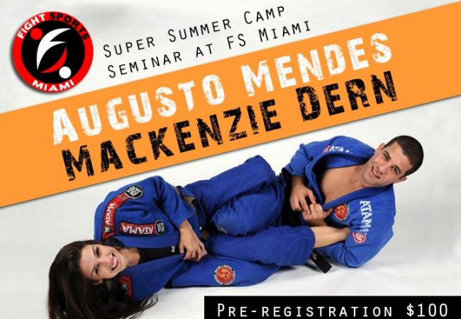 Learn from black belt couple Mackenzie Dern and Augusto Tanquinho Mendes in Miami