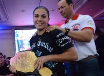 """Vídeo: conheça Jéssica """"Bate-Estaca"""", primeira brasileira a lutar no UFC"""