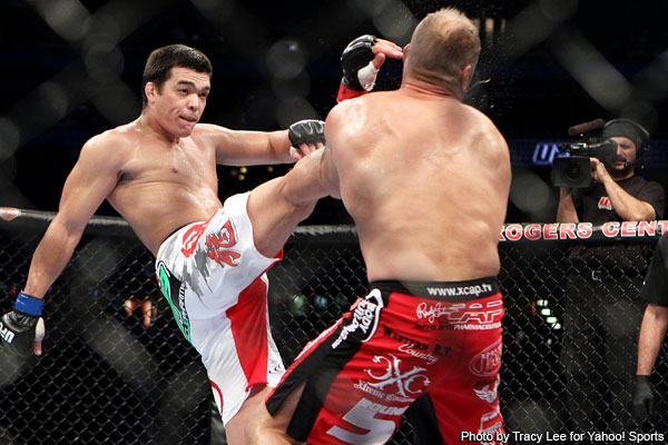 Relive Lyoto Machida's knockout of Randy Couture at UFC 129