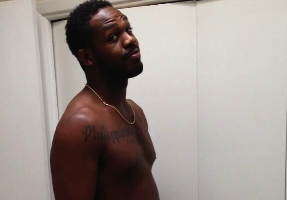 Photo: Jon Jones gives new meaning to 'gutsy performance' with this picture