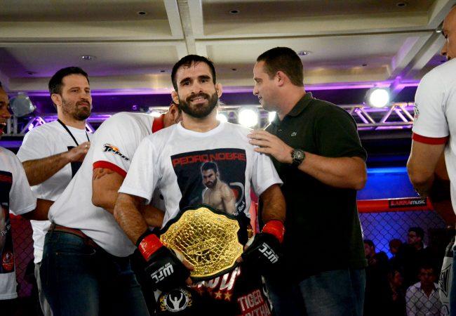 Galeria de fotos: Pedro Nobre, Ana Maria Índia e o cinturão do Web Fight 2
