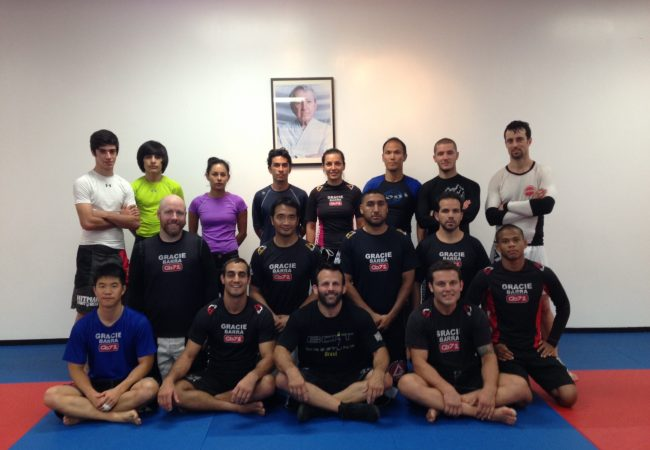 Gracie Barra Manhattan Beach brings wrestling into the gym with top coach