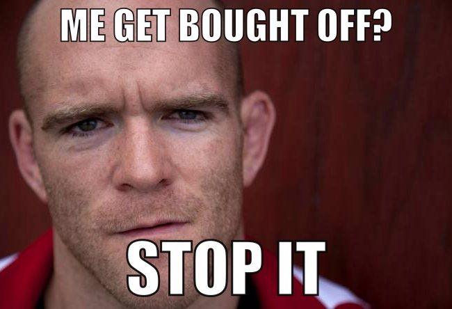 For all you conspiracy theorists, UFC's T.J. Grant would like to tell you something