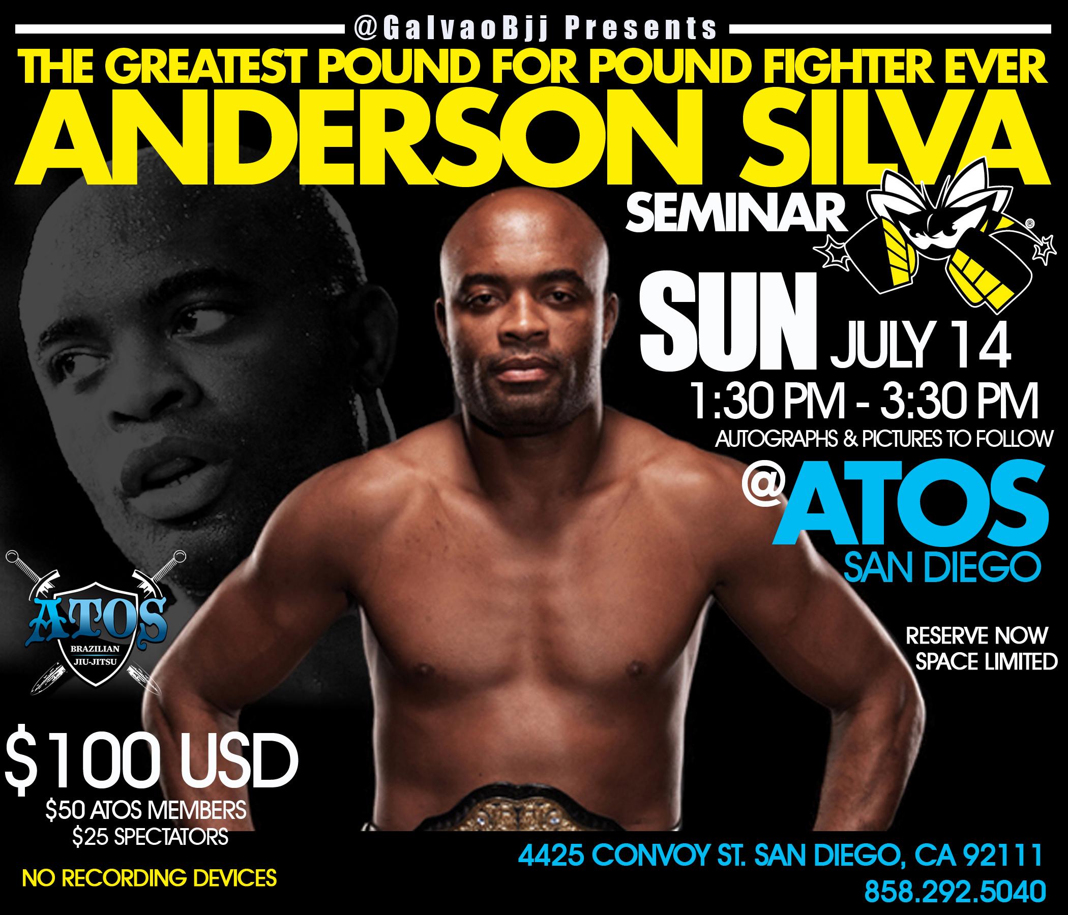 Anderson Silva Seminar