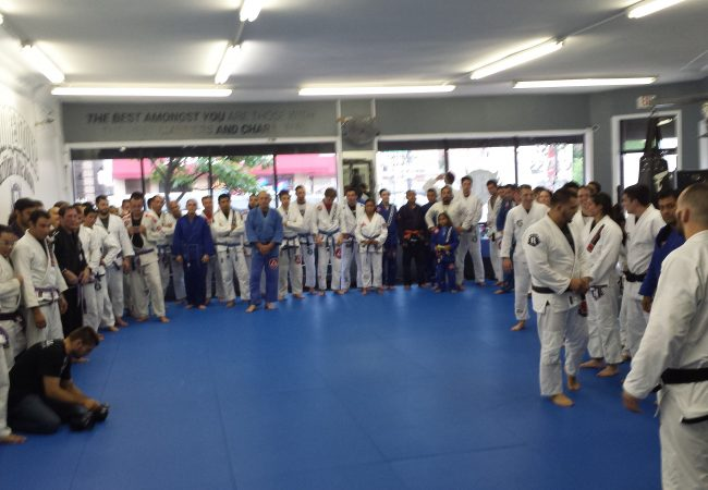 Team Redzovic awards black belts to three long time students in Chicago, IL
