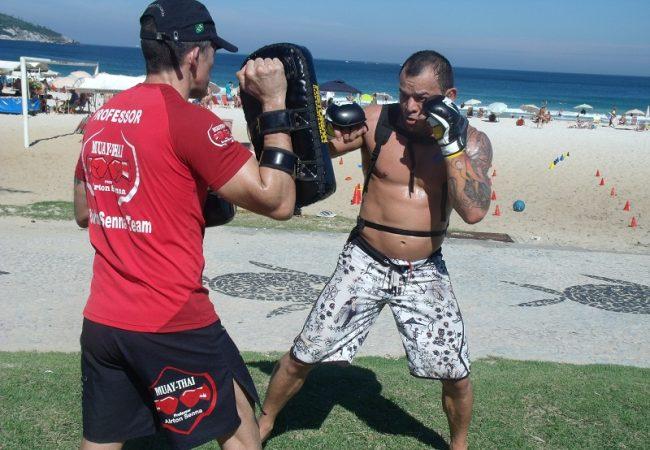 """Tibau treina com kimono para UFC 164: """"Estava perdendo a essência do Jiu-Jitsu"""""""