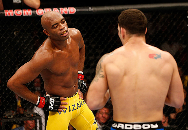 "Anderson Silva: ""I'll fight Weidman again on December 28"""