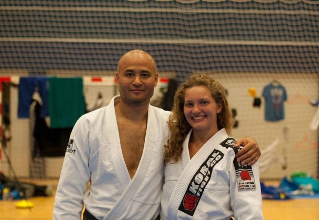 Checkmat's Janni Larsson receives black belt after four world titles in two years