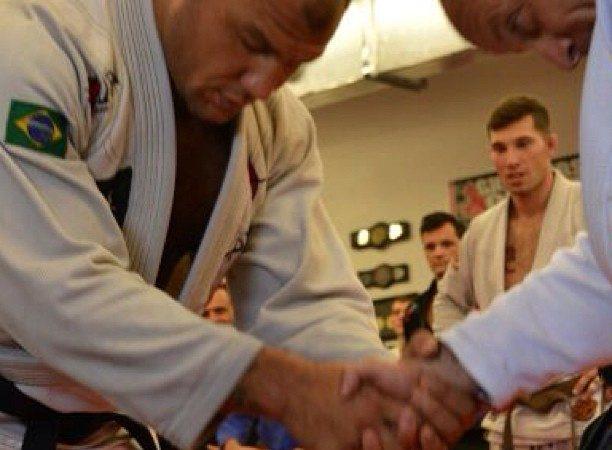 Roberto 'Cyborg' Abreu receives third degree on his black belt