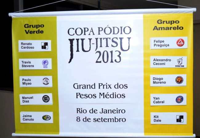 Copa Podio releases the two groups who will face each other at Middleweight GP