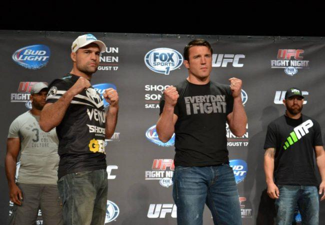 Confira a pesagem do UFC Fight Night: Shogun vs Sonnen