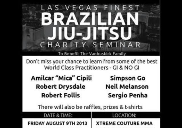 Charity seminar in Las Vegas for family of black belt fallen officer on Aug. 9