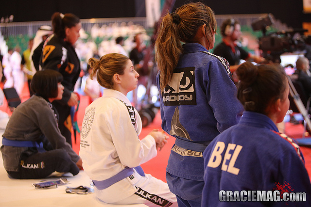 Good news for females who want a ticket to the 2014 Abu Dhabi WPJJC