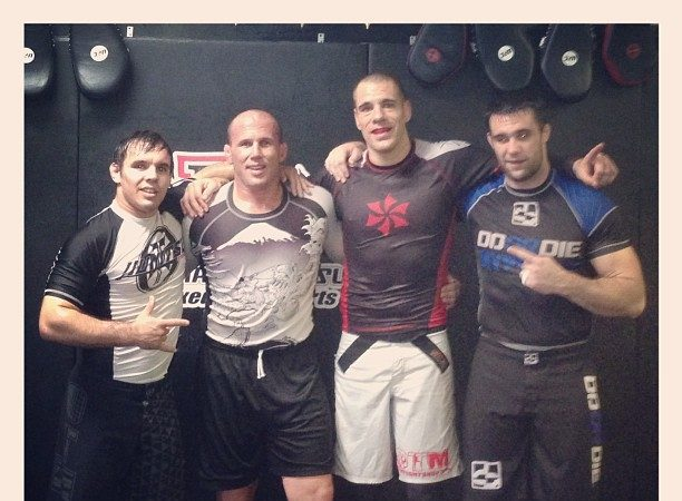 See Justin Rader prepare his striking as he moves into realm of MMA