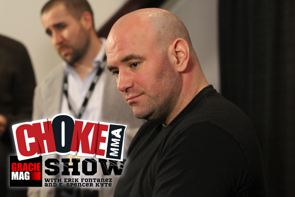 The Choke MMA Show Ep. 5: Interview with Dana White, UFC 163 picks with Ivan 'The Tech Guy'