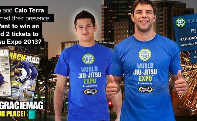 Hurry up to guarantee your presence in the World Jiu-Jitsu Expo 2013!