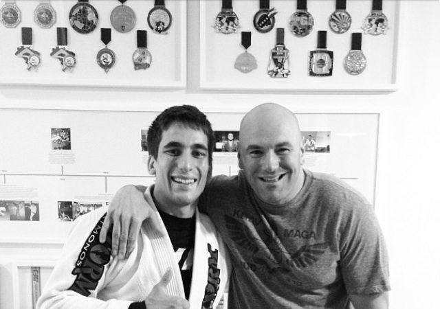 Gui Mendes comenta treininho de Jiu-Jitsu com a presença de Dana White