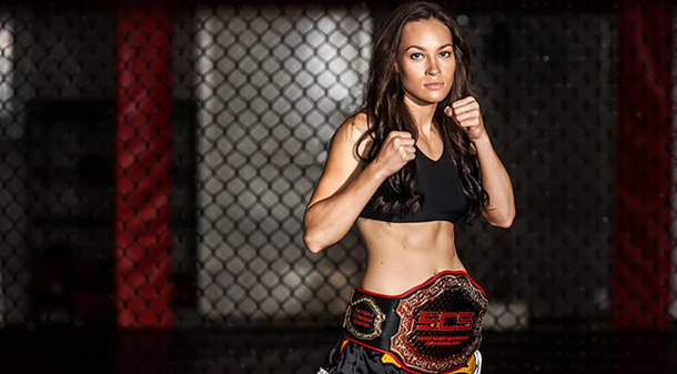 Sexo frágil? Veja o nocautaço da bela Jinh Yu Frey no MMA feminino