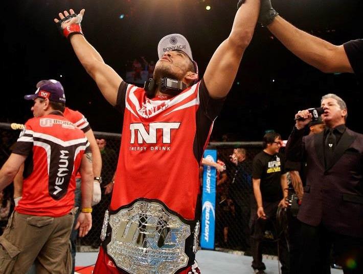 José Aldo is again the UFC's lightweight champion. Josh Hedges/Zuffa LLC via Getty Images