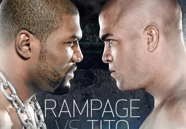 Ex-campeões do UFC, Rampage e Tito Ortiz lutam no Bellator em novembro