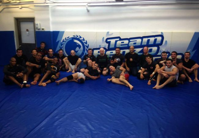 Photo: Georges St-Pierre returns to Renzo Gracie's to prepare for UFC 167
