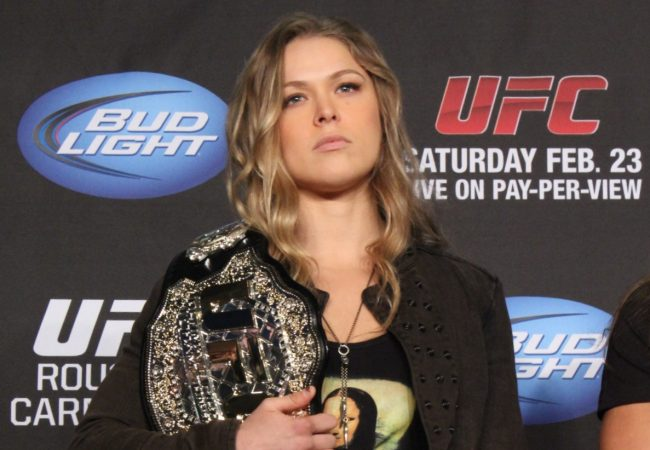 Watch the Ronda Rousey Q&A session on GRACIEMAG.com