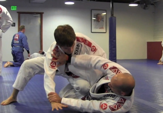 Learn a half-guard sweep from Eduardo Carreillo of GB London Bridge