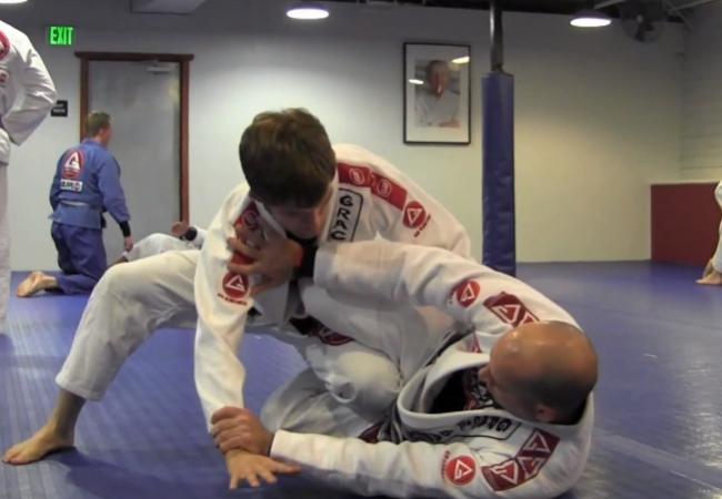 Learn a half-guard sweep from Eduardo Carreillo of GB London Bridge