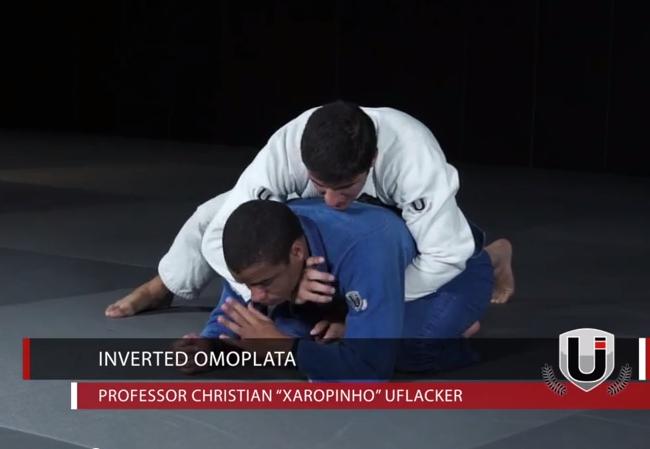 "Learn an inverted omoplata with Christian ""Xaropinho"" Uflacker"