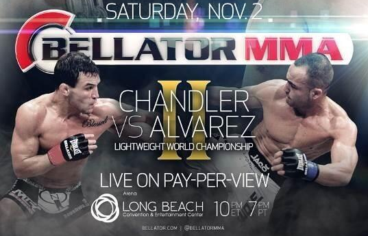 Eddie Alvarez settles dispute with Bellator, fights Mike Chandler on Nov. 2 pay-per-view