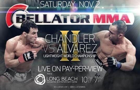 Eddie Alvarez settles dispute with Bellator, fights Mike Chandler on Nov. 2 pay-per-view